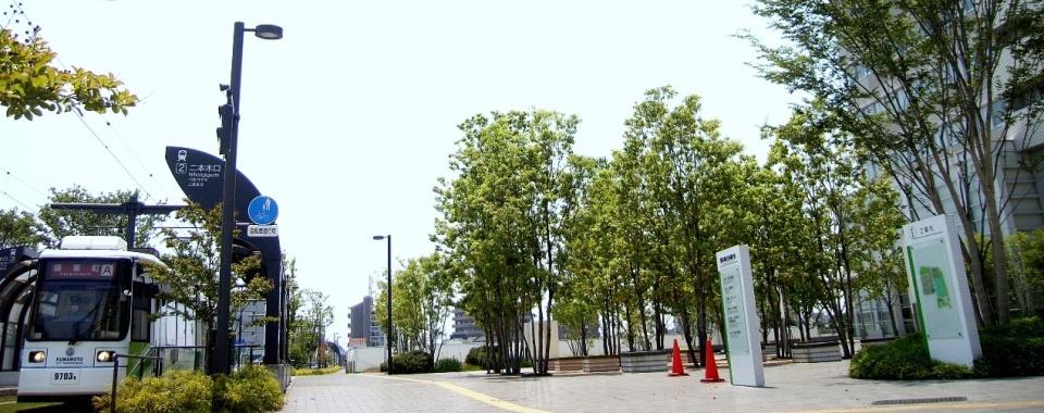 熊本合同庁舎前電停