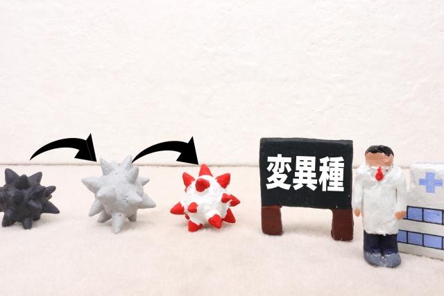 新型コロナ変異株